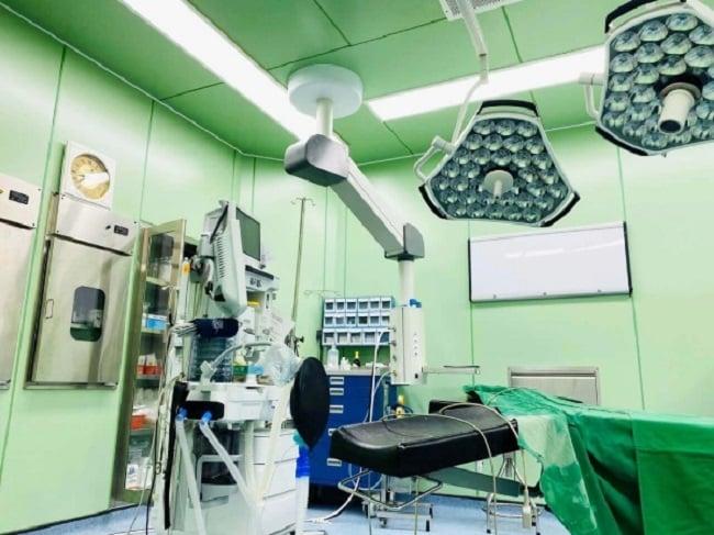 Phòng đại phẫu thẩm mỹ viện S - ONE