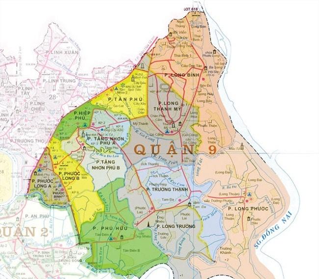 Quận 9 có bao nhiêu phường