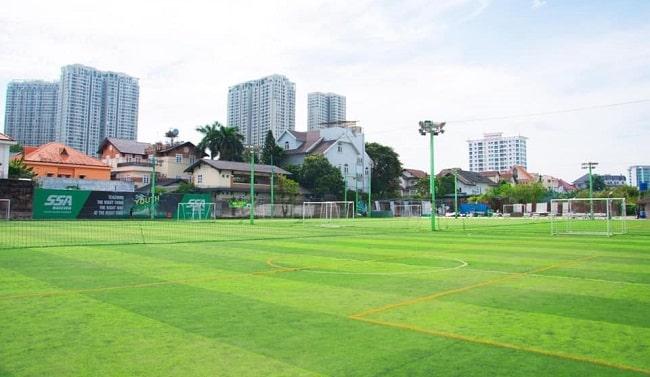 Sân bóng đá Quận 2 - Sân Thảo Điền