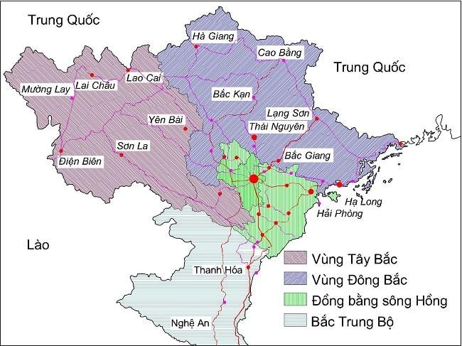 Từ TPHCM đi các tỉnh miền Bắc bao nhiêu km