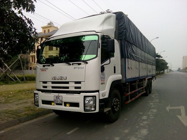 Kích thước xe tải 10 tấn