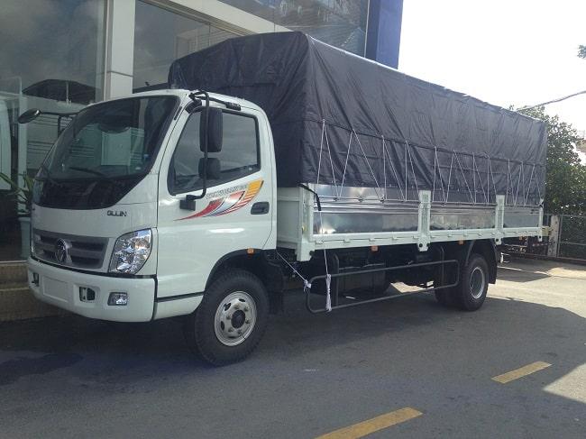 Kích thước xe tải 7 tấn