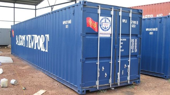 1 container 40 feet chở được bao nhiêu tấn?