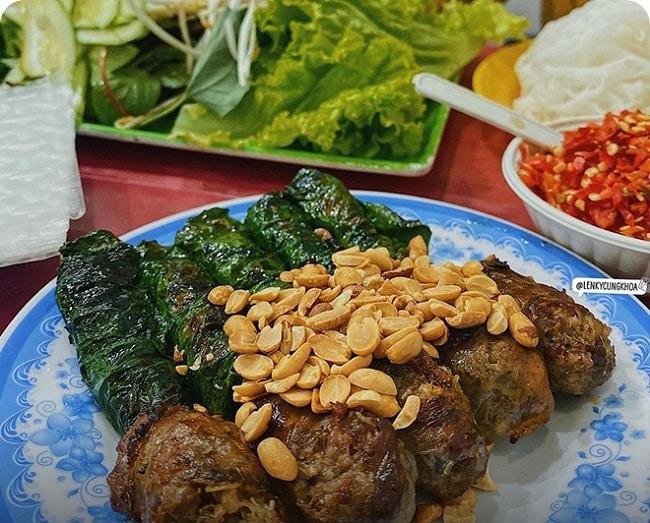 Bò lá lốt Hoa Trang