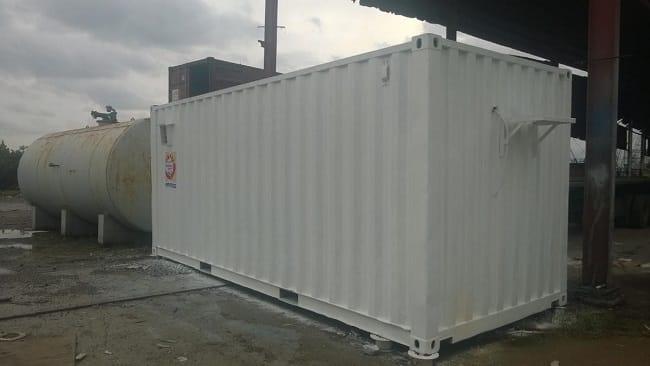 Container 20 feet chở được bao nhiêu tấn?