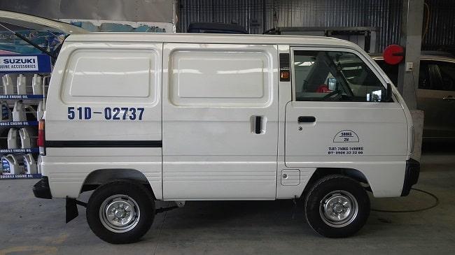 Giá xe tải van Suzuki