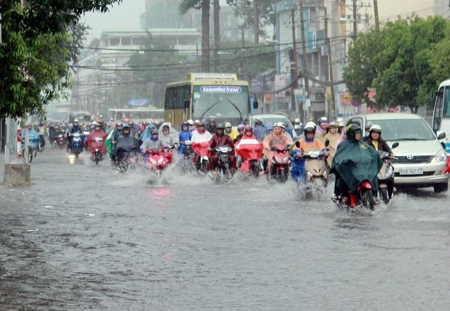 Bản đồ ngập nước TPHCM