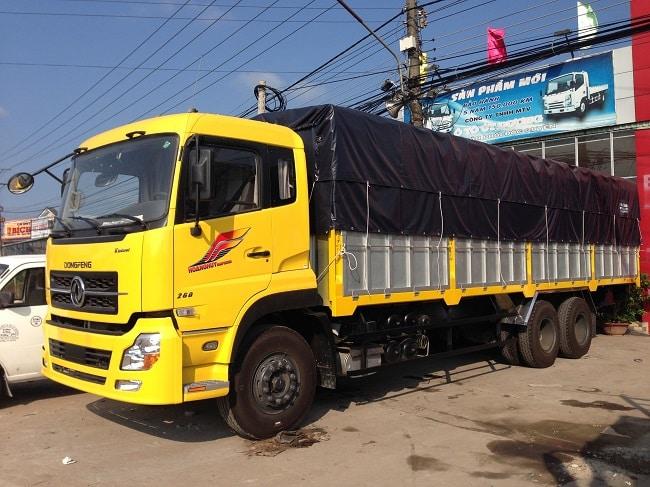 Bảng giá xe tải Dongfeng 3 Chân
