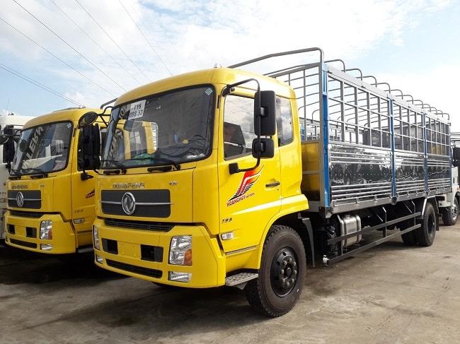 Bảng giá xe tải Dongfeng 9 tấn