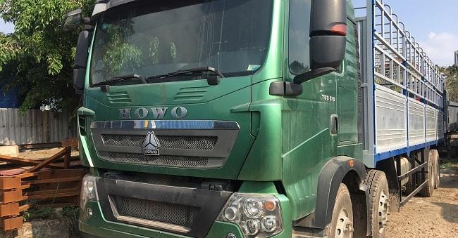 Bảng giá xe tải Howo T5G