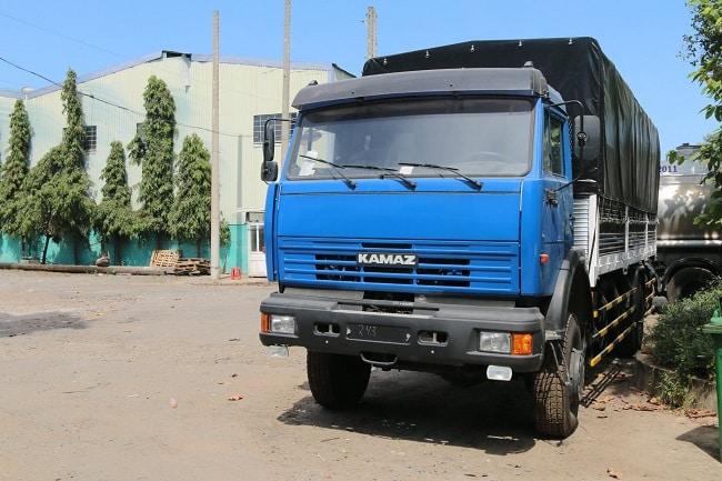 Bảng giá xe tải Kamaz thùng