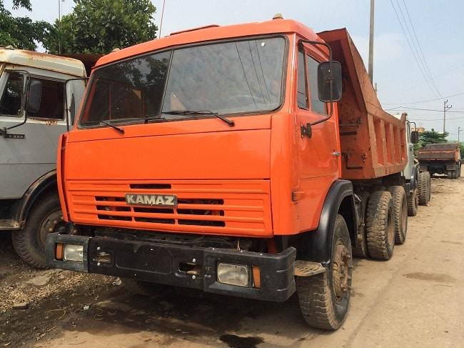 Bảng giá xe tải Kamaz tự đổ - 65201