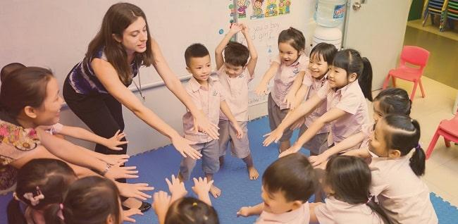 Các trường quốc tế ở TPHCM Kinder