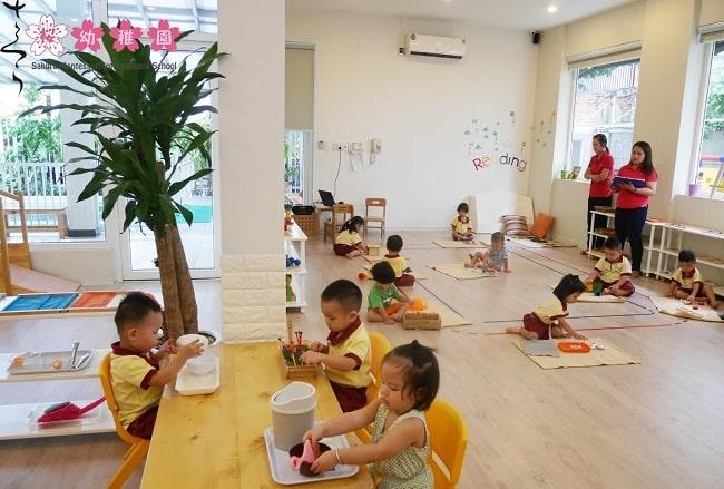 Các trường quốc tế ở TPHCM Sakura