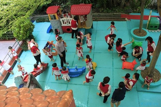 Các trường quốc tế ở TPHCM Sân Lá Cọ