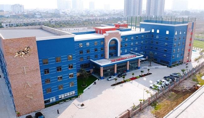 Các trường quốc tế ở TPHCM -TAS