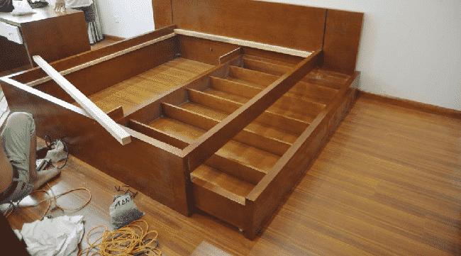 Cách vận chuyển giường ngủ