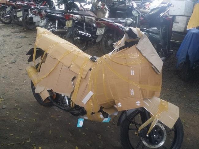 Cách vận chuyển xe máy đi xa