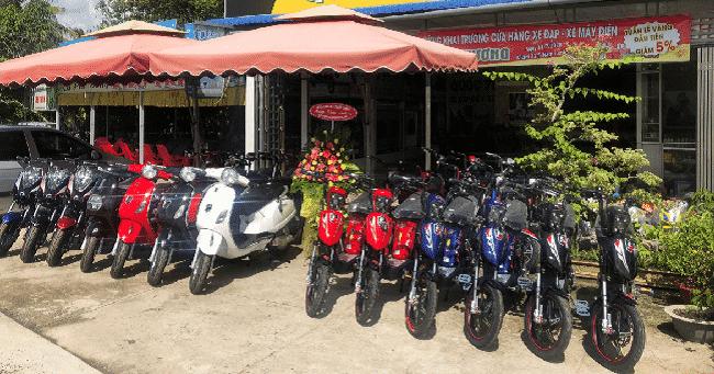 Cửa hàng xe đạp điện ở TPHCM