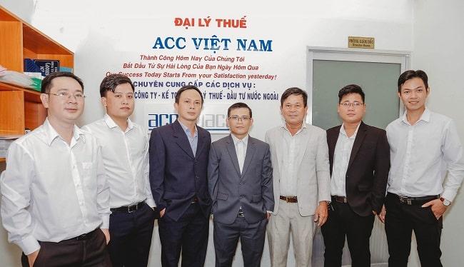 dịch vụ kế toán tại huyện Nhà Bè - ACC Việt nam