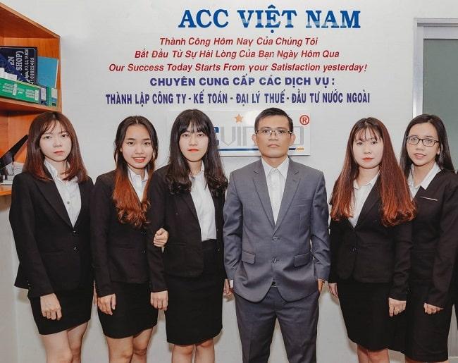 Dịch vụ kế toán trọn gói tại quận 7 - ACC Group