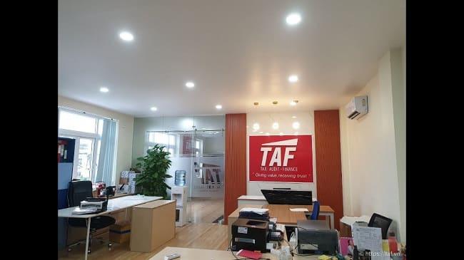 Dịch vụ kế toán trọn gói tại quận 7 - TAF