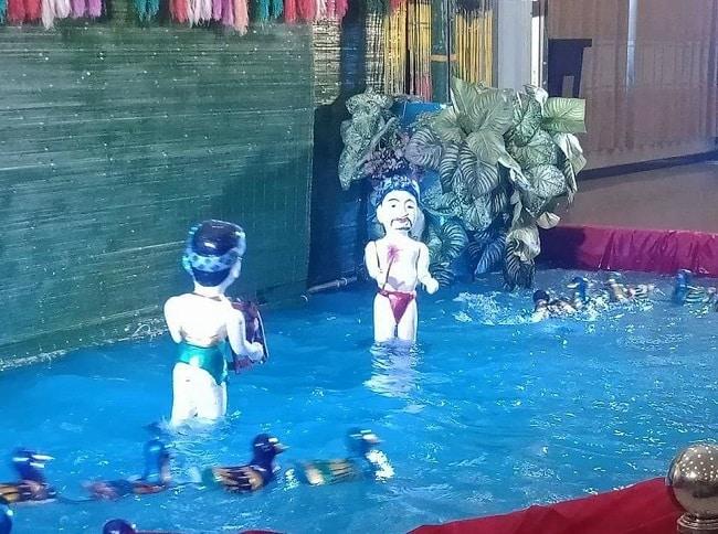 Múa rối nước tại TPHCM