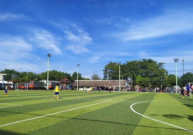 Sân bóng đá Cá Sấu Hoa Cà