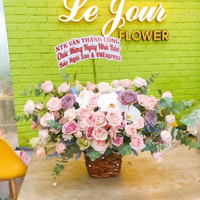 Shop hoa tươi quận 1 - Lejourvn