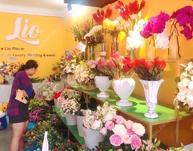 Shop hoa tươi quận 2 Lio