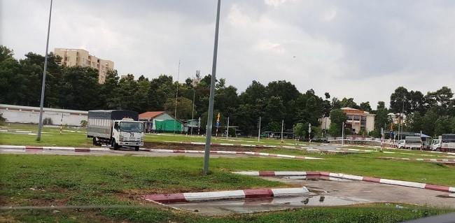 Trung tâm sát hạch lái xe trường An ninh Nhân Dân
