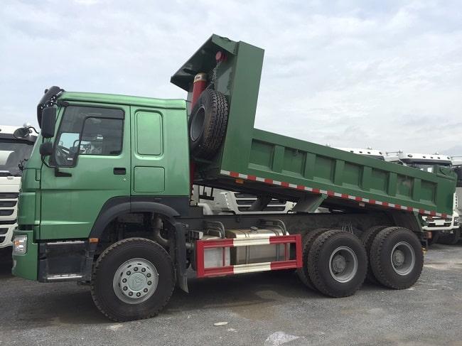 Xe tải ben Howo 3 chân 13T1