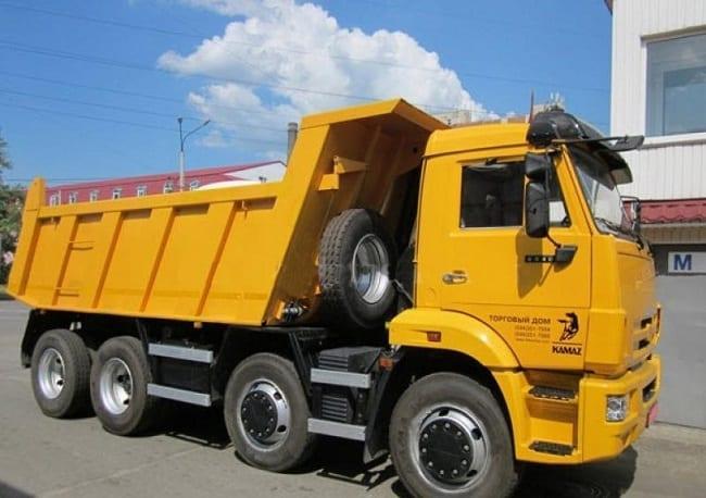 Xe tải Kamaz 6540 4 Chân