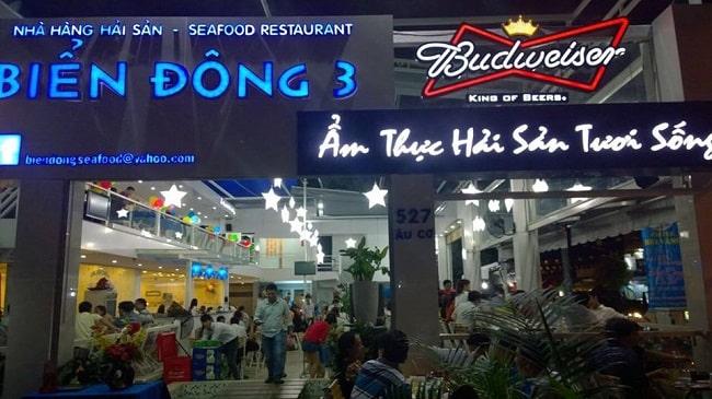 Nhà hàng hải sản Biển Đông 3