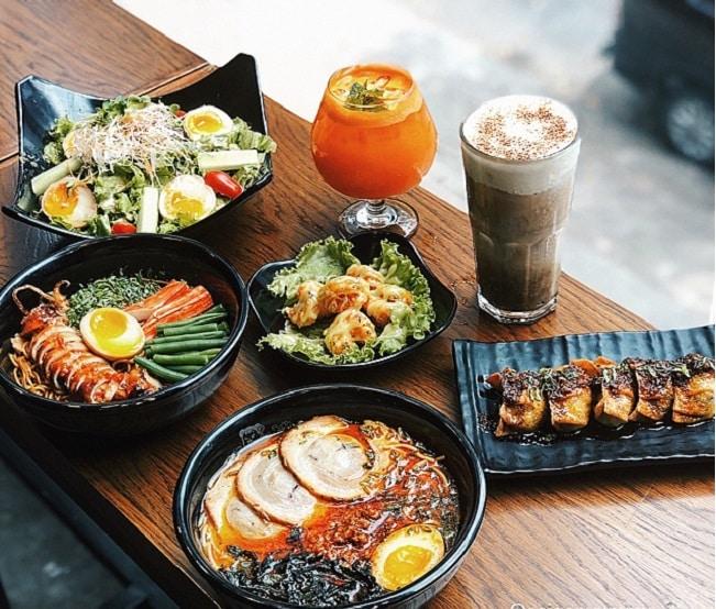 Nhà hàng ramen ở Sài Gòn