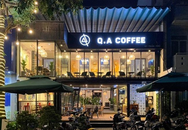 Quán cà phê piano QA coffee