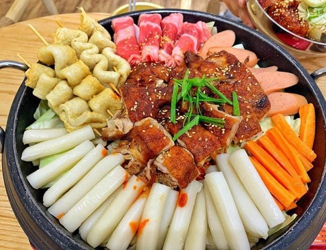 Top 4 nhà hàng tokbokki siêu ngon