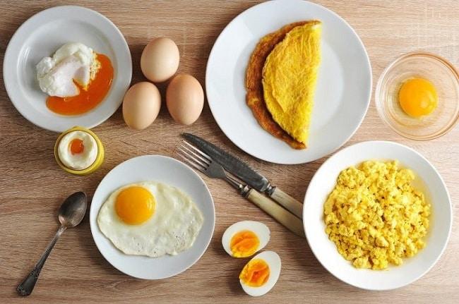 Xăm lông mày kiêng gì? Trứng