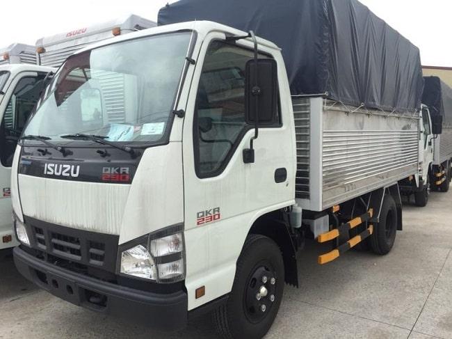 Xe tải 1.4 tấn Isuzu QKR77FE4