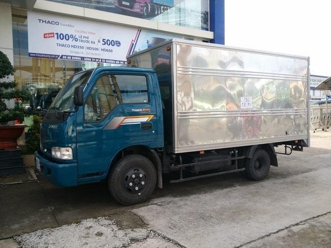 Giá xe tải 2.4 tấn Thaco