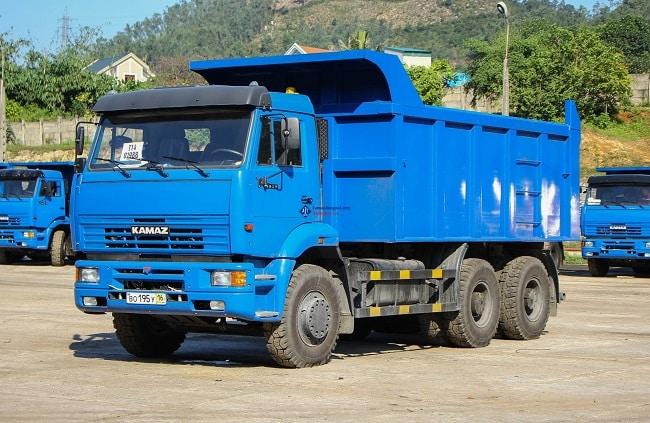 Xe tải tự đổ Kamaz 6520