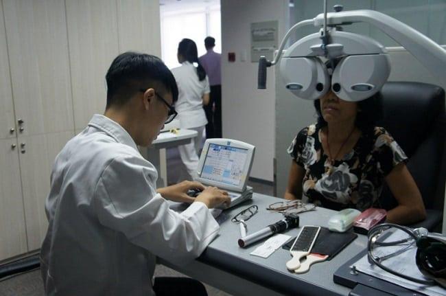 Bệnh viện mắt Cao Thắng - 1