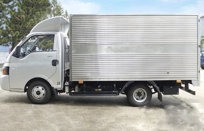 Giá xe tải 1.25 tấn Jac X125 Thùng kín