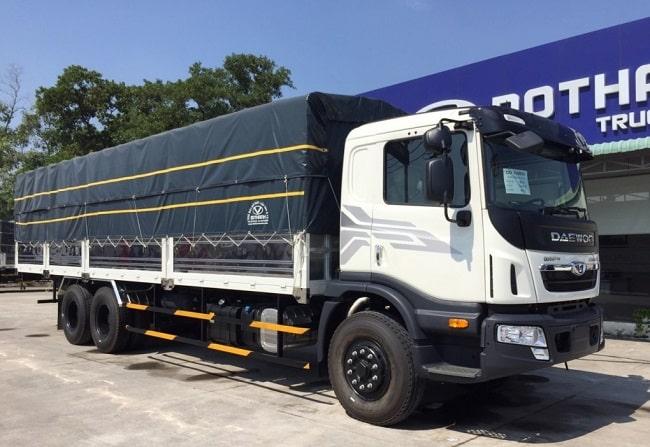 Giá xe tải 15 tấn Daewoo