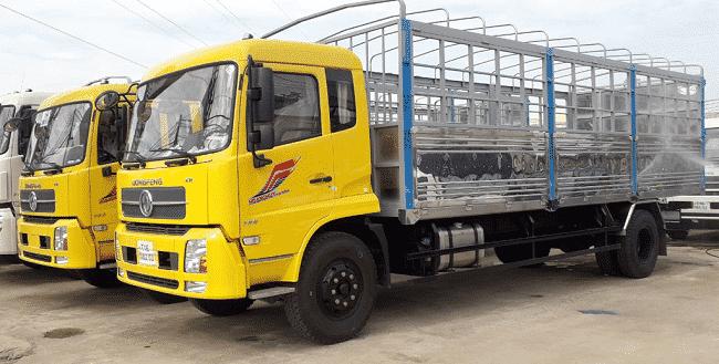Giá xe tải 9 tấn Dongfeng