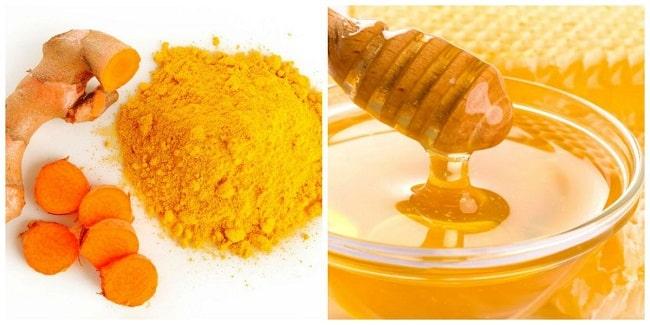 Cách triệt lông chân vĩnh viễn tại nhà bằng bột nghệ và mật ong