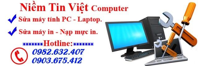 Sửa máy tính Niềm Tin Việt