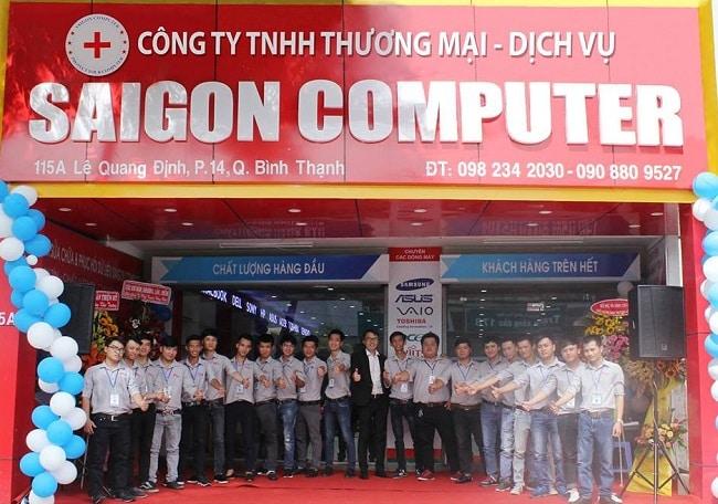 Sửa máy tính Sài Gòn Computer tại Gò Vấp