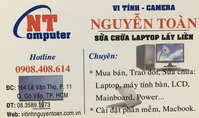 Vi tính Nguyễn Toàn