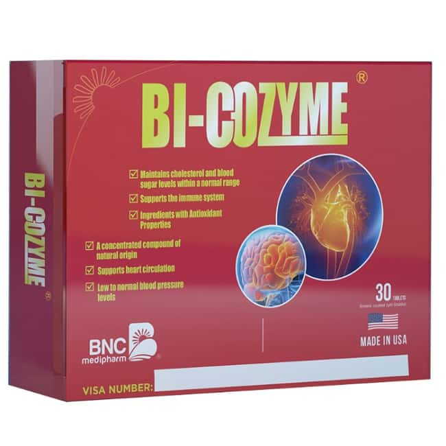 Viên thuốc chống đột quỵ của Mỹ Bi Cozyme
